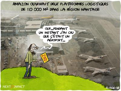 Amazon ouvrirait deux plateformes logistiques de 110 000 m² dans la région nantaise