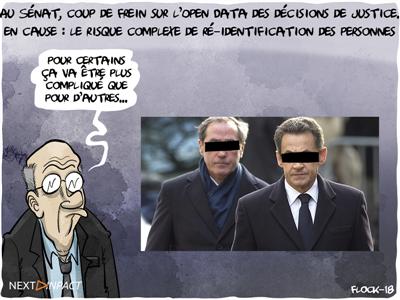 Au Sénat, coup de frein sur l'Open Data des décisions de justice