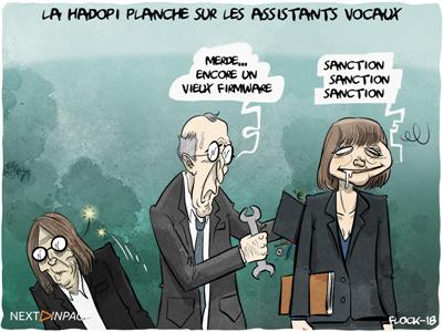 La Hadopi planche sur les assistants vocaux avec d'autres autorités dont la Cnil, le CSA et l'Arcep