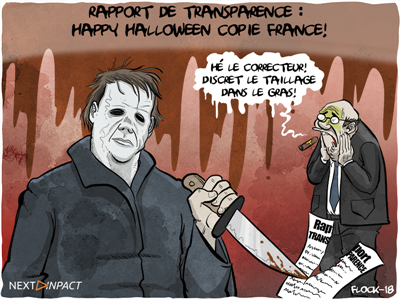 Rapport de transparence : la bourde de Copie France