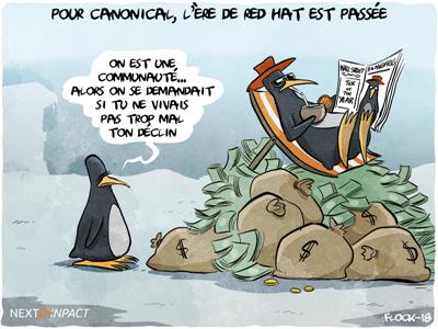 Pour Canonical, l'ère de Red Hat est passée