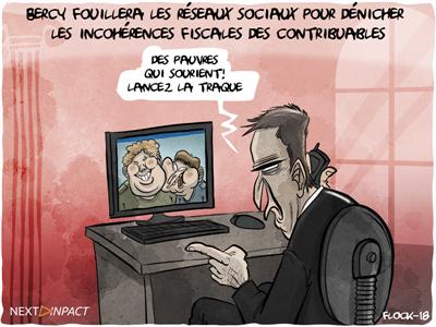 Bercy fouillera les réseaux sociaux pour dénicher les incohérences fiscales des contribuables