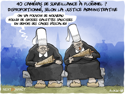 40 caméras de surveillance dans une commune ? Disproportionné, selon la justice administrative