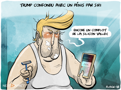 La réponse amusante (mais corrigée) de Siri à la question : qui est Donald Trump ?