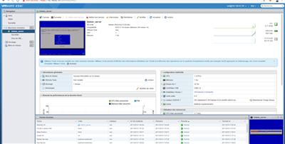 VSphere Hypervisor ESXi Création VM