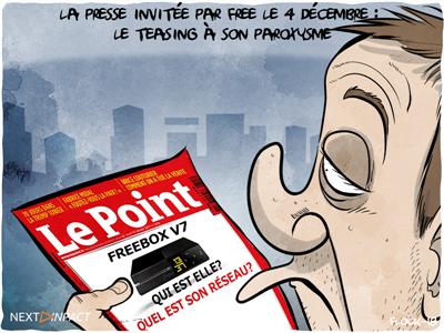 La Freebox v7 présentée le 4 décembre, la presse reçoit ses invitations