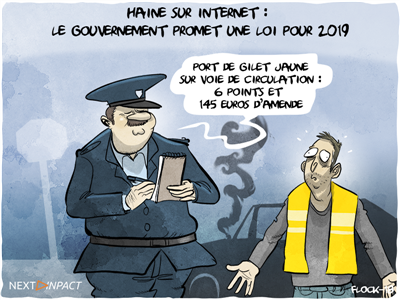 Haine sur Internet : le gouvernement promet une loi pour 2019