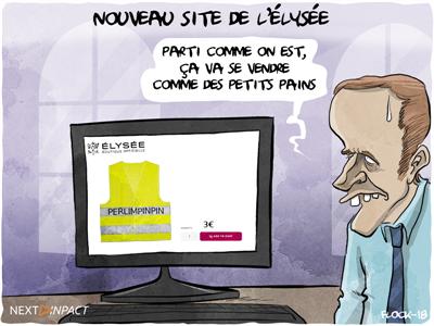 Un nouveau site Internet pour l'Élysée