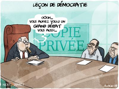 Plusieurs recours contre les travaux de la Commission Copie privée