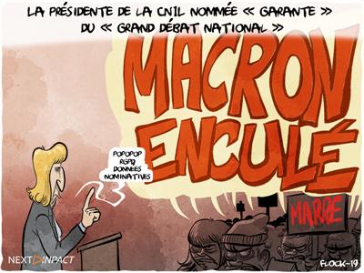 La présidente de la CNIL nommée « garante » du « grand débat national »