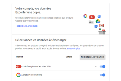 Google Chrome Export Mots de passe
