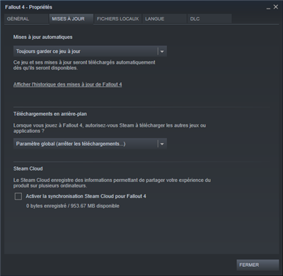Steam Clound Sync