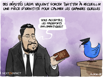 Des députés LREM veulent forcer Twitter à recueillir une pièce d'identité à la création d'un compte