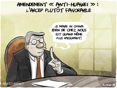 Amendement « anti-Huawei » : l'Arcep plutôt favorable, des critiques au Sénat
