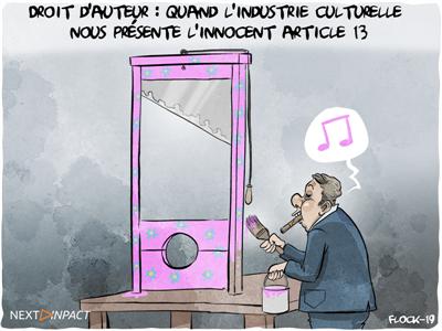 Droit d'auteur : quand l'industrie culturelle nous présente l'innocent article 13