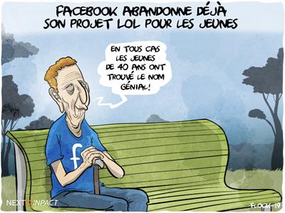 Facebook abandonne déjà son projet LOL pour les jeunes et se recentre sur Messenger Kids