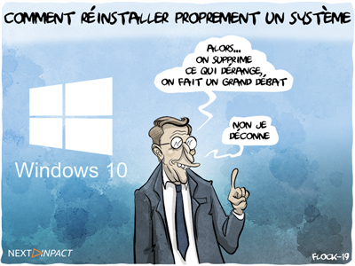 Comment (ré)installer proprement son Windows 10