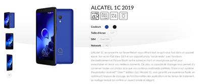 Alcatel 1C2019