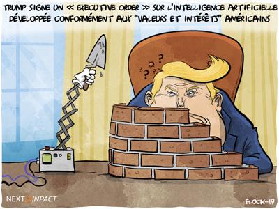 Donald Trump signe un « Executive Order » sur l'intelligence artificielle
