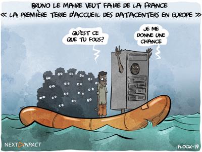 Bruno Le Maire veut faire de la France « la première terre d'accueil des datacenters en Europe »