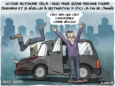 Selon Elon Musk, les voitures Tesla entièrement autonomes arriveront d'ici la fin de l'année