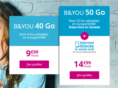 B&You promotions mars 2011