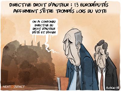 Directive Droit d'auteur : 13 eurodéputés affirment s'être trompés lors du vote