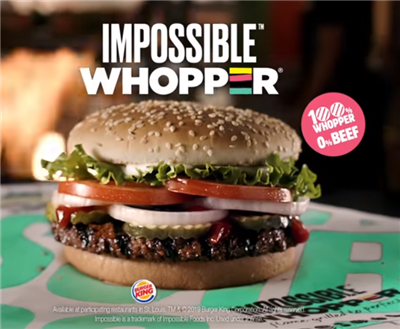 Burger King 1er avril 2019