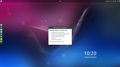 Ubuntu 19.04 Mise à jour