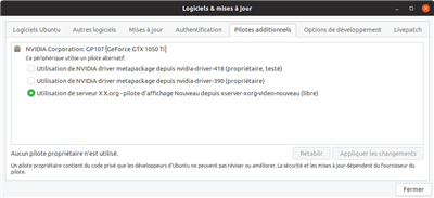 Ubuntu Drivers NVIDIA