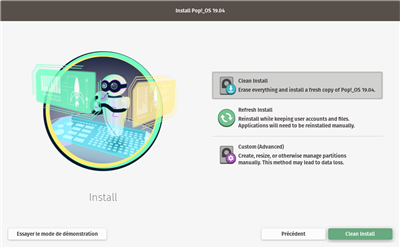 Pop!_OS Installation