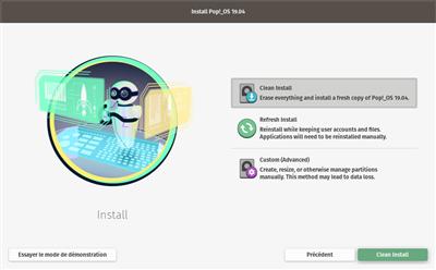 Pop!_OS Installation