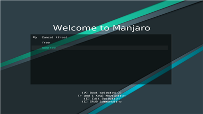 Manjaro Installation Source Pilotes