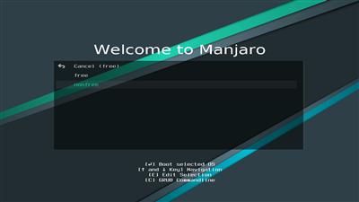 Manjaro Installation Source Pilotes
