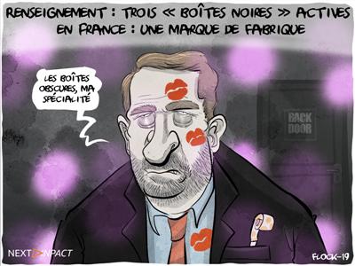 Renseignement : trois « boîtes noires » actives en France en 2018