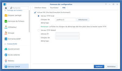 PXE Synology
