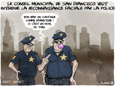 Le conseil municipal de San Francisco veut interdire la reconnaissance faciale par la police
