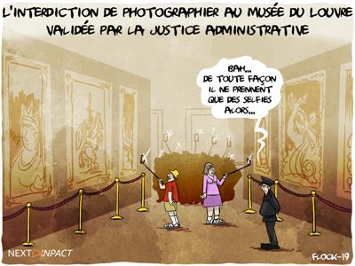 L'interdiction de photographier au Musée du Louvre validée par la justice administrative
