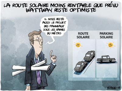 La route solaire de WattWay (dans l'Orne) produit beaucoup moins que prévu