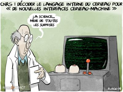 CNRS : décoder le langage interne du cerveau pour « de nouvelles interfaces cerveau-machine »