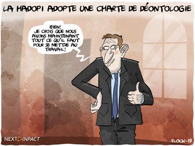 La Hadopi se dote d'une « charte de déontologie »