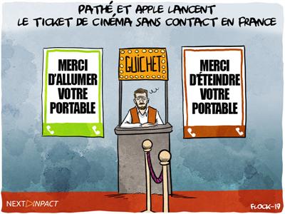 Pathé et Apple lancent le ticket de cinéma sans contact en France