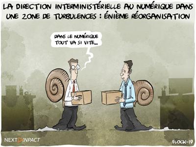La Direction interministérielle au numérique dans une zone de turbulences