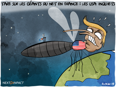 Taxe sur les services numériques : les États-Unis enquêtent et menacent la France