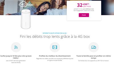 4G Box Bouygues Telecom aout 2019