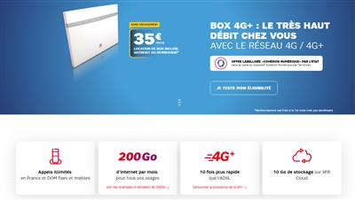 Box 4G SFR aout 2019