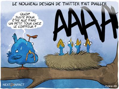 Le nouveau design de Twitter a du mal à convaincre