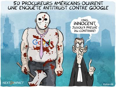 50 procureurs américains ouvrent une enquête antitrust contre Google