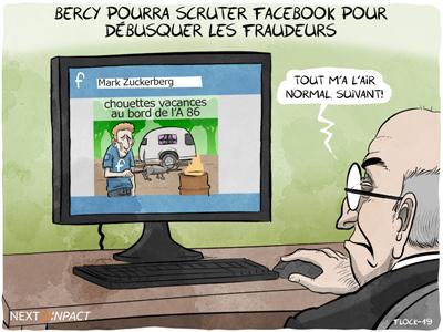 PLF 2020 : selon une note LREM, Bercy pourra scruter Facebook pour débusquer des fraudeurs