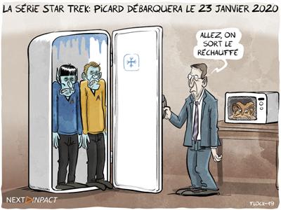 Première bande-annonce pour la série Star Trek: Picard, avec Patrick Stewart